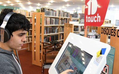 La borne « 1D touch » est à ma médiathèque !