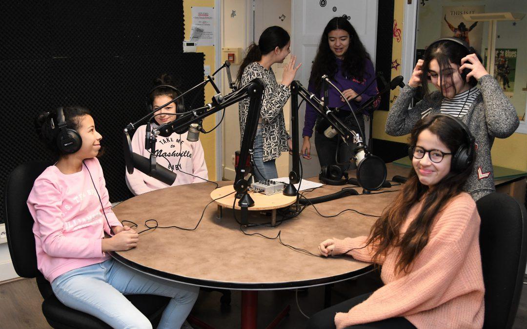 Les jeunes à la Radio