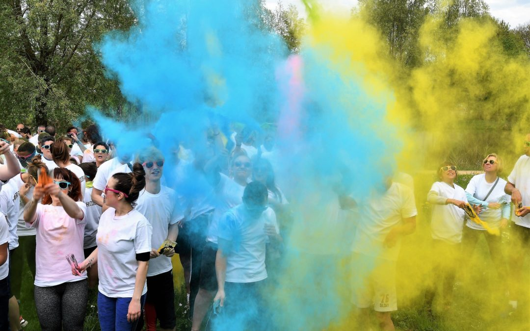 « The color run » met les participants en couleurs