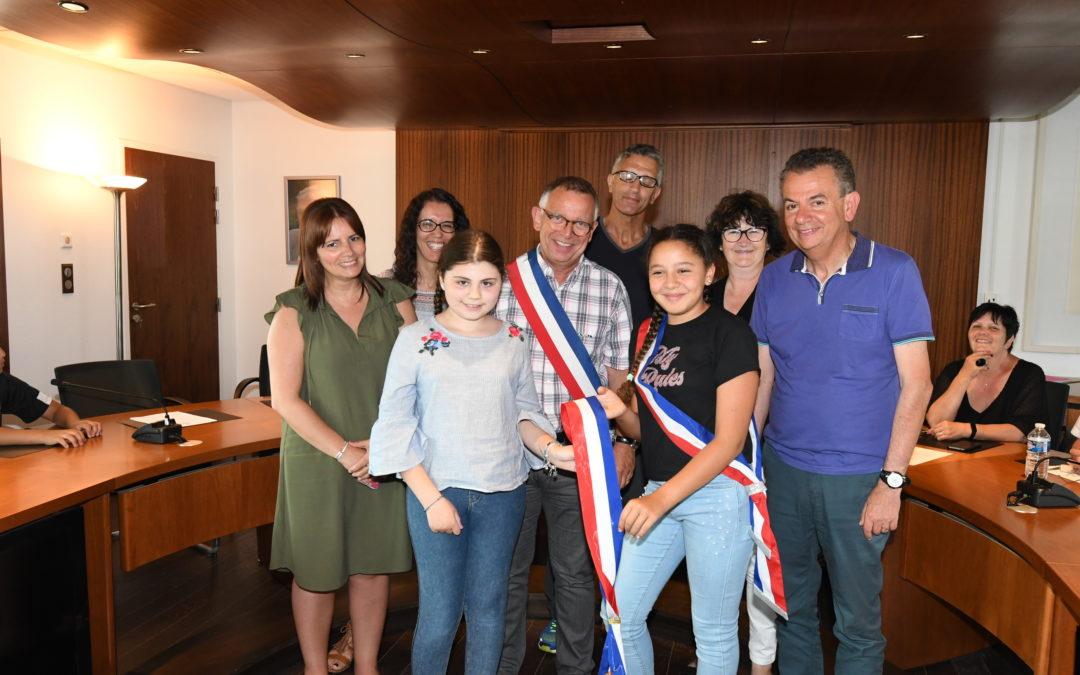 Ninon TESTA, nouveau maire du CME