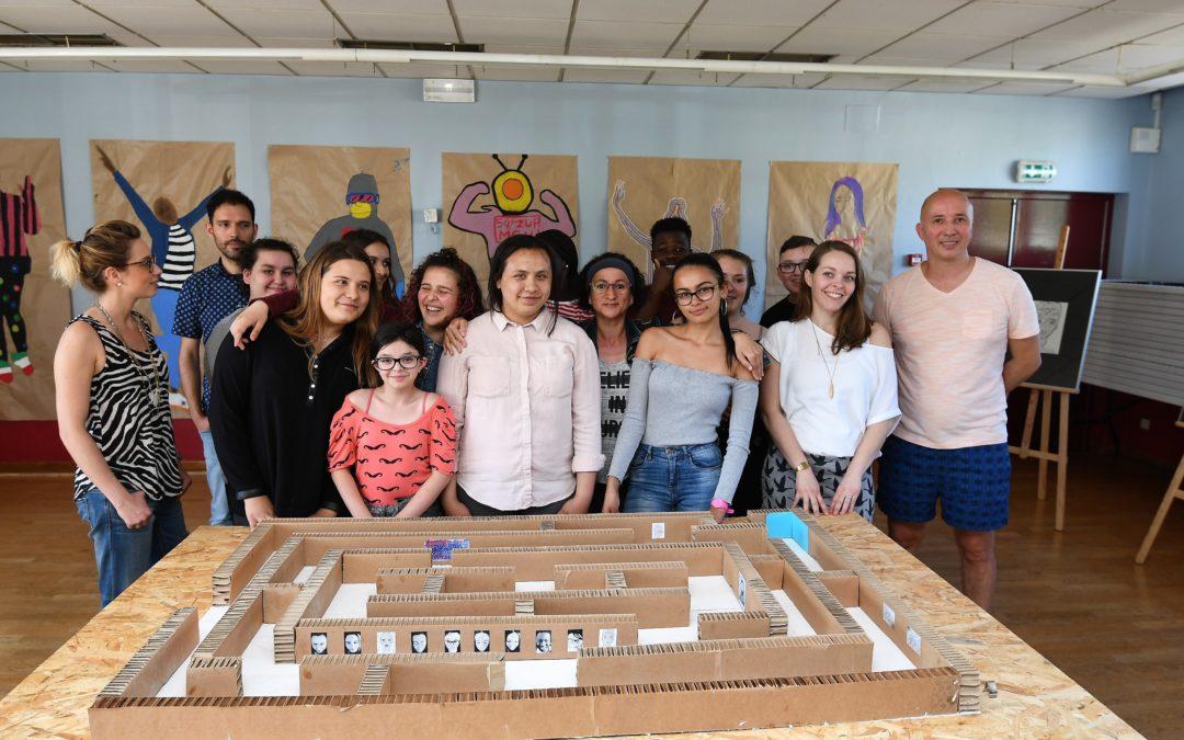 Un projet « jeunes » autour du Labyrinthe