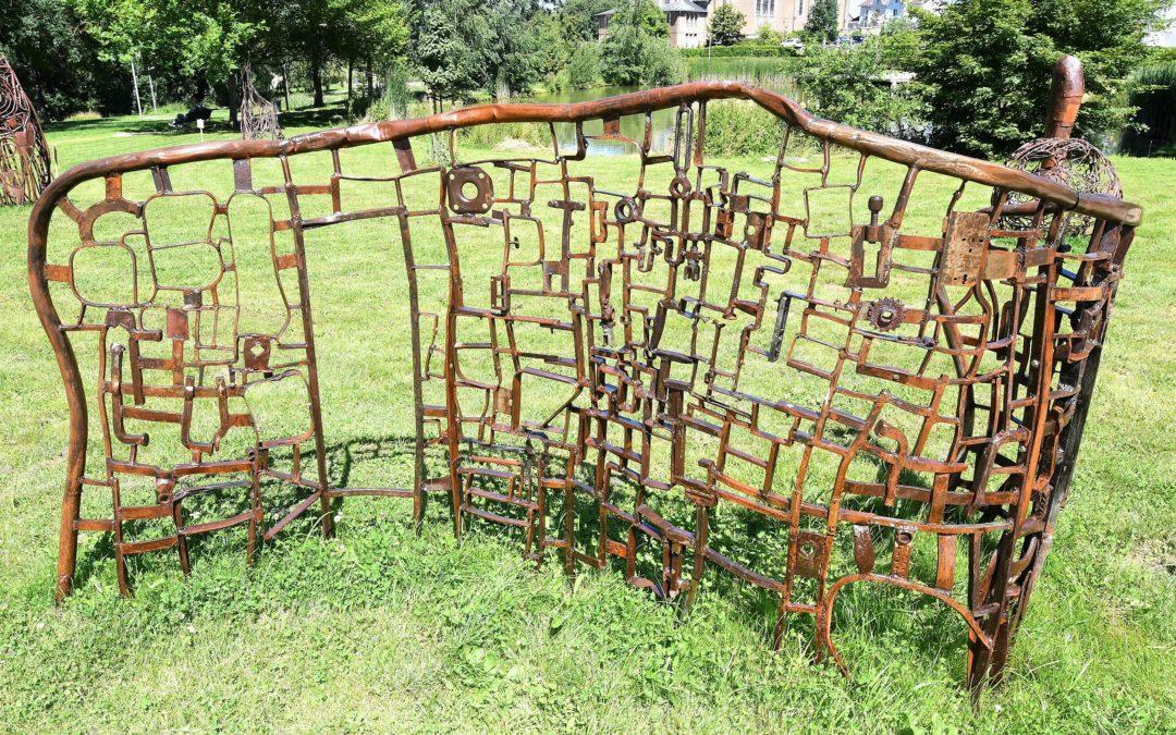 Des sculptures au parc municipal Brigidi