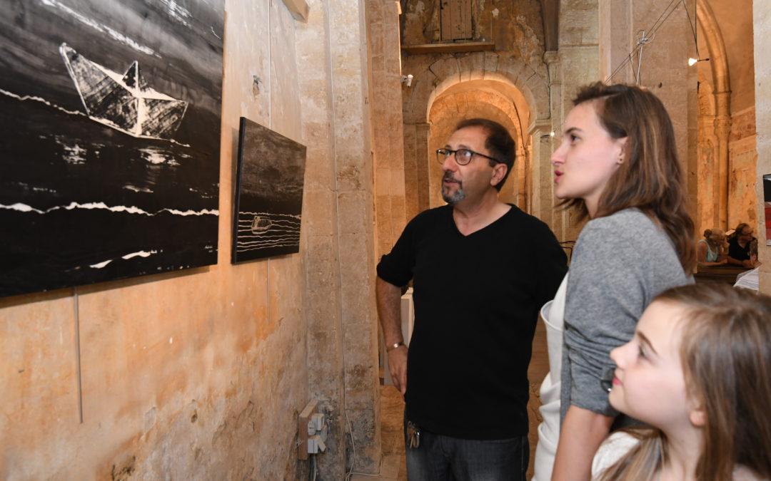 Exposition croisée entre Oberlinkels et Nunziatini