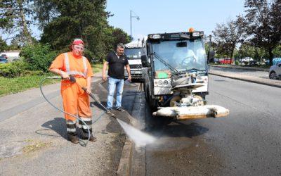 Opération nettoyage à Mont-Saint-Martin
