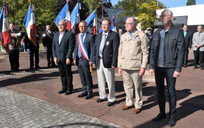 Commémoration de la libération de Mont-Saint-Martin