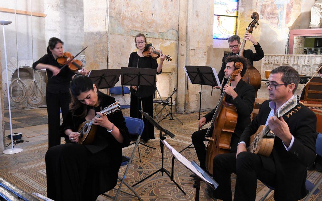 Un concert napolitain pour mandoline