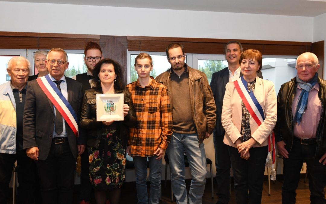 Céline Crepaud à l'honneur