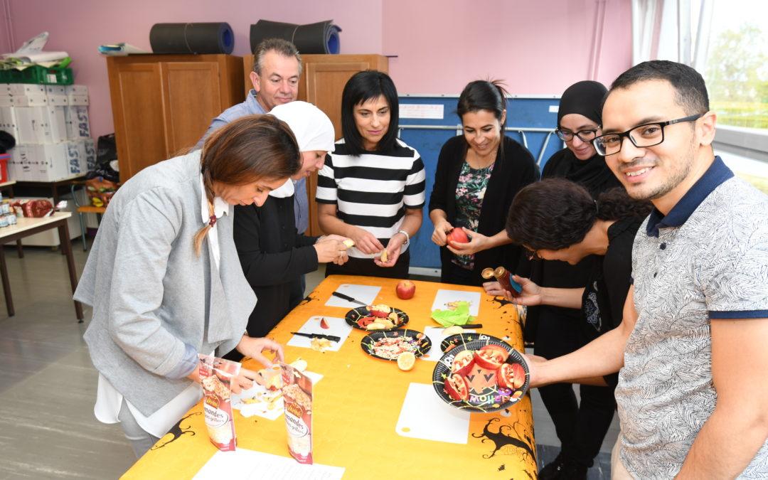 Des ateliers culinaires à Albert Iehlen