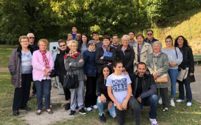 L'atelier « Jeunes et Seniors, restez connectés » en visite à Verdun