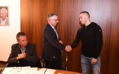 Steven Da Costa officiellement Ambassadeur du sport de Mont-Saint-Martin