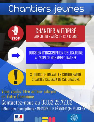Affiche Chantier Jeunes