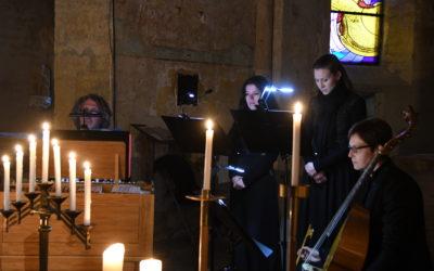 Ad Libitum en concert à l'église romane