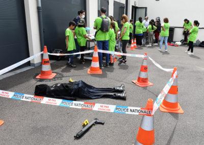 Au Commissariat de Police de Mont-Saint-Martin