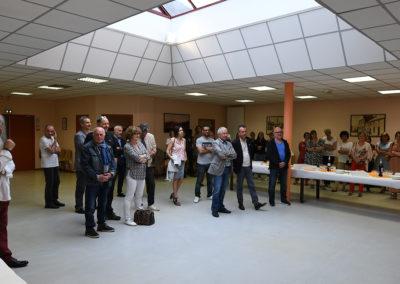 Collègues, élus et amis réunis pour la retraite de Jean-Luc Sacher