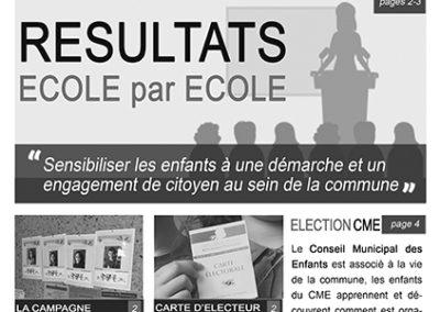 Journal Spécial Elections