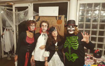 La bibliothèque à l'heure d'Halloween