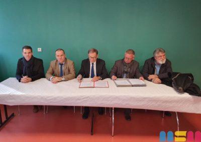 Nicolas Litaize, Frédéric Carre, Jean-Marie Othelet, Serge De Carli, Jean-Paul Peiffer