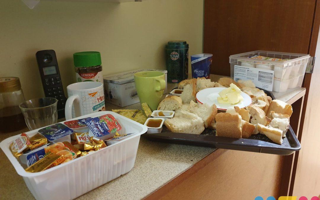 Petits-déjeuners à l'école
