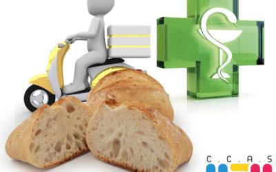 Livraison de médicaments et de pain