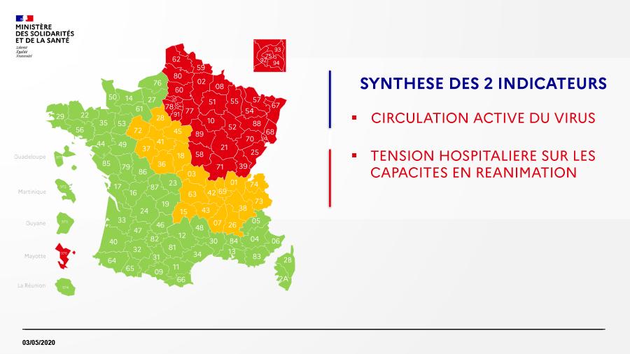 Déconfinement : Tableaux de synthèse concernant la vie sociale, les déplacements, les transports, les commerces, les établissements scolaires, les crèches et le sport à partir du 11 mai 2020