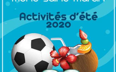 Activités d'été 2020