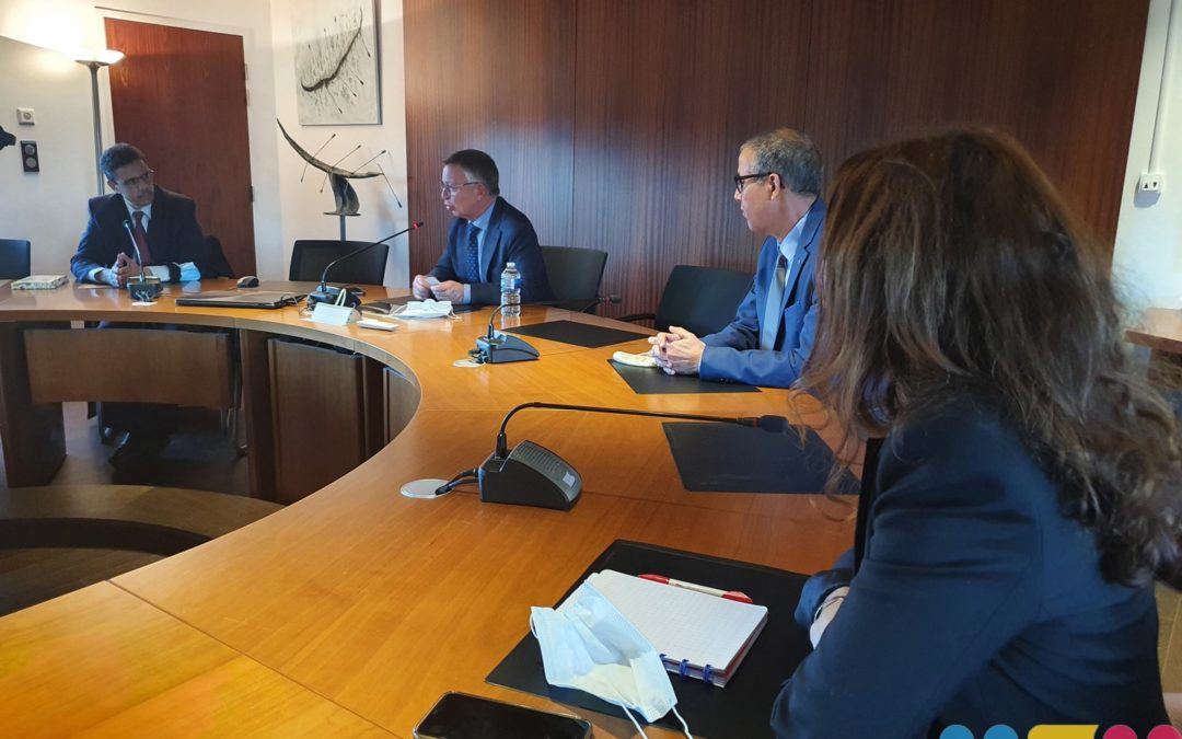 Visite protocolaire du Consul Général du Maroc