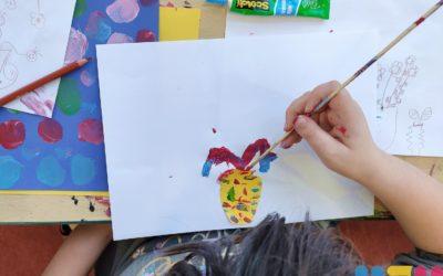 Médiathèque Louis-Aragon : les ateliers artistiques ont séduit les enfants