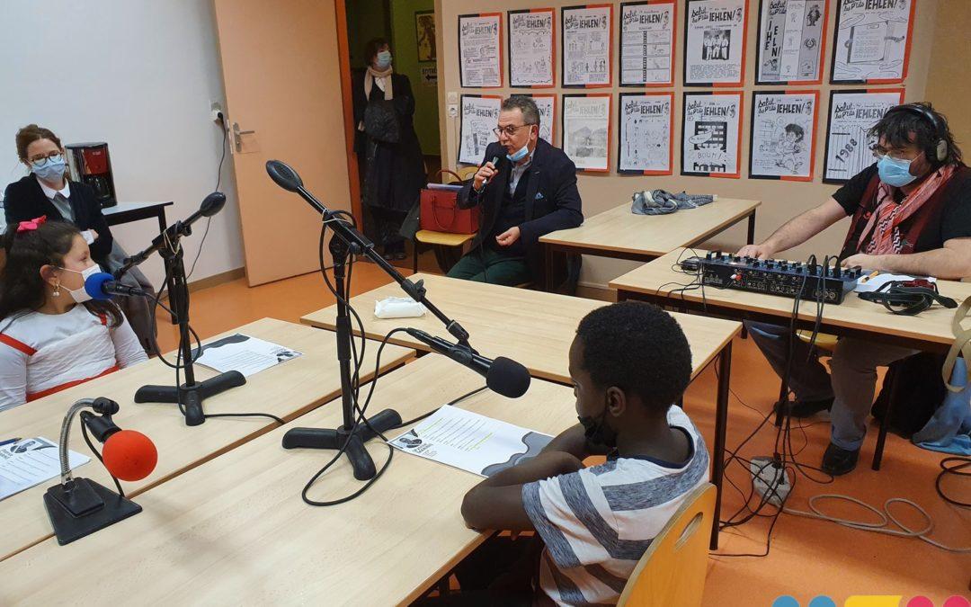 Intervieweurs en herbe sur Radio Aria