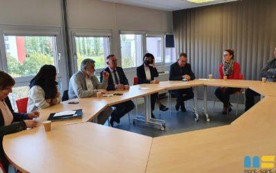 Convention entre la ville et le CAMSP